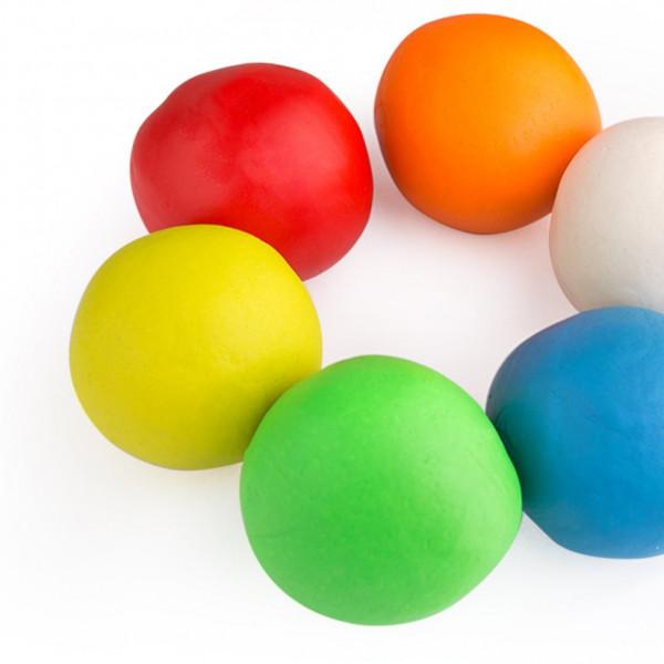 Тісто для ліплення 6 кольорів Jar Melo