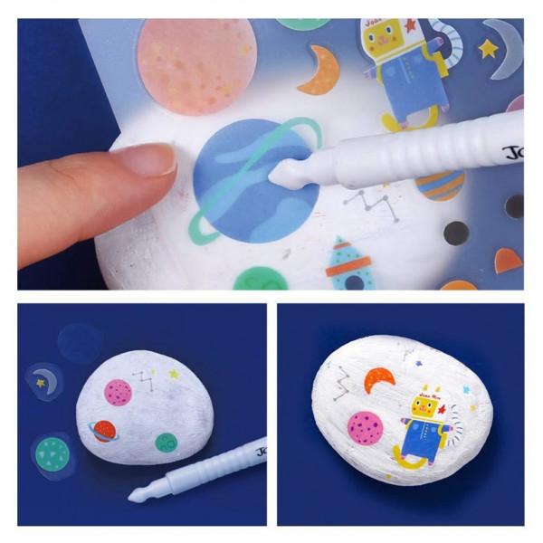 Творчий набір для малювання на каменях Jar Melo