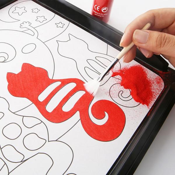 Творчий набір для малювання піском Нічні сцени Jar melo
