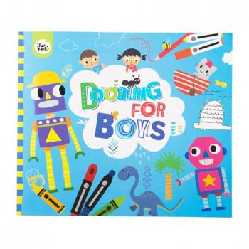 Книга для малювання Jar Melo розфарбування хлопчикам
