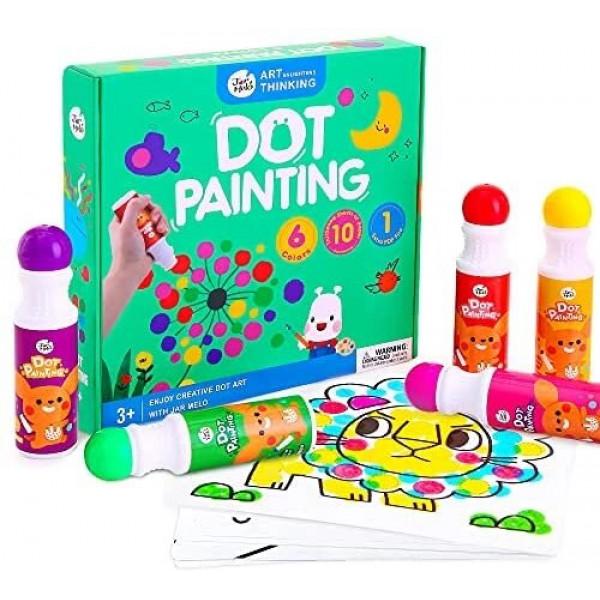 Набір для малювання Jar Melo Точкова живопис для малюків