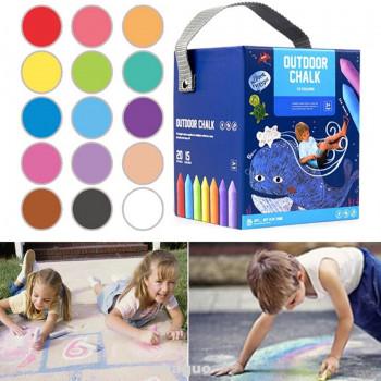 Олівці кольорові 20 штук 15 кольорів