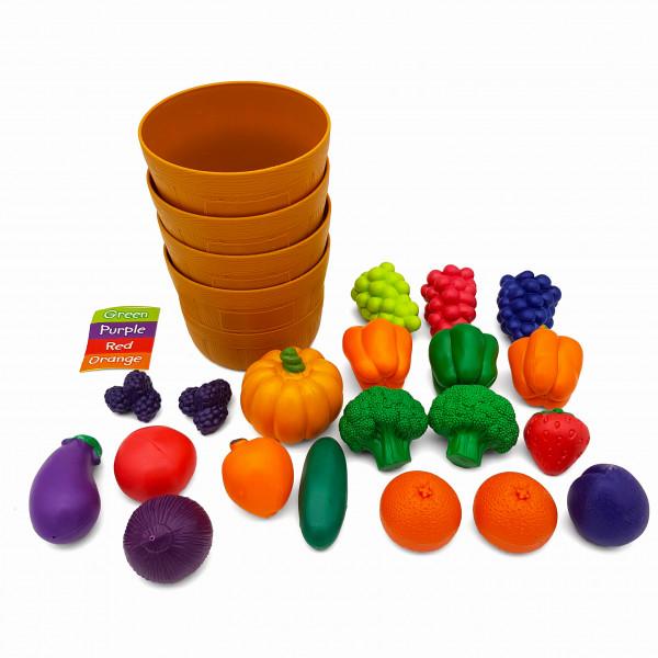 Сортування фрукти овочі
