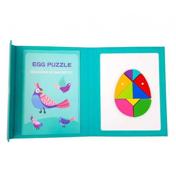 Магнітний «Танграм» egg puzzle у вигляді книги