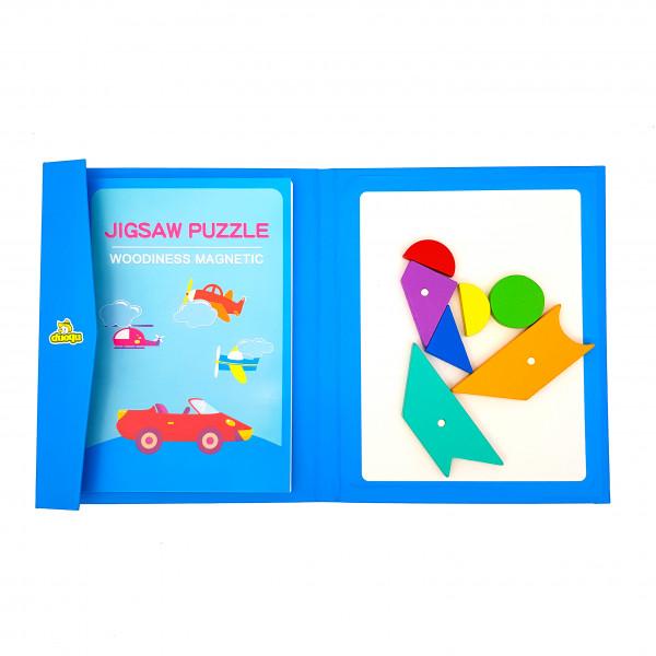 Магнітний «Танграм» Jigsaw Puzzle у вигляді книги