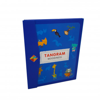 Магнітний «Танграм» Woodiness у вигляді книги