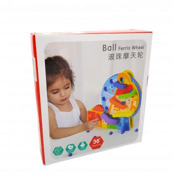 Трек механічний з кульками