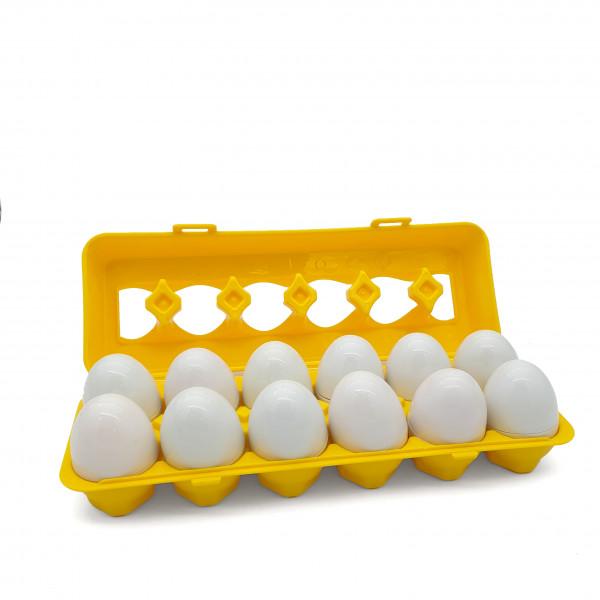 Набір для рахунку і сортування Лоток з яйцями (цифри)