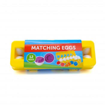 Набор для счета и сортировки Лоток с яйцами (геометрические фигуры)