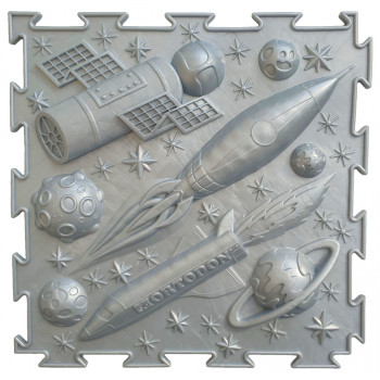 Масажний Килимок ОРТОДОН «Космос» сірий