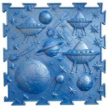 Масажний Килимок ОРТОДОН «Космос» синій